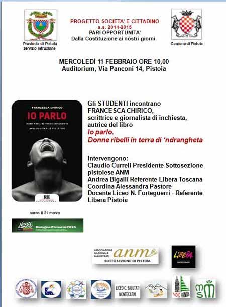 "TORNA MERCOLEDÌ 11 FEBBRAIO ""SCUOLA: SOCIETÀ E CITTADINO"""
