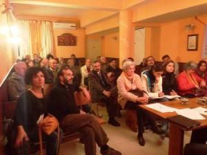 Il pubblico presente a uno degli incontri passati