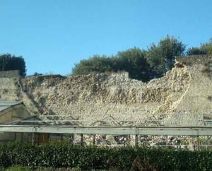 1. Le mura crollate a Pistoia