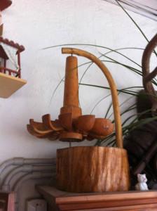 1. Ritrecine in miniatura realizzato da Ottavio Simoni