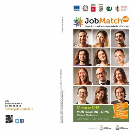 """""""JOB MATCH CAFÉ"""" AL TETTUCCIO DI MONTECATINI"""