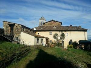 I locali annessi alla chiesa di San Michele a Buriano.