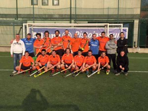 La formazione dell'Hockey Club Pistoia Asd