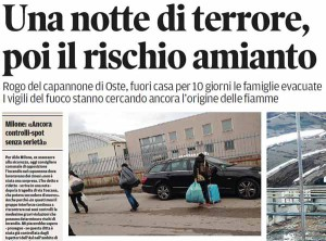 Il Tirreno, 2 marzo 2015