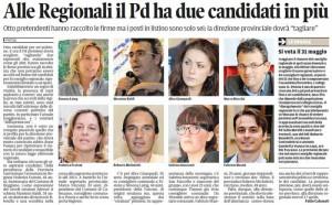 Il Tirreno, 29 marzo 2015. Elezioni regionali