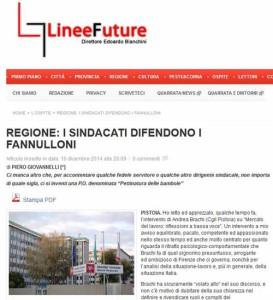 Linee Future, 10 dicembre 2014