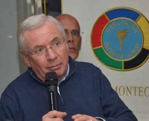 Mario Tuci (e dietro Marco Biagini)