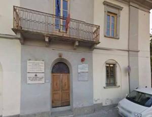 La sede dell'Istituto Barone De' Franceschi a Pistoia