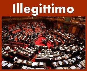 Un Parlamento dichiarato illegale dalla Corte Costituzionale