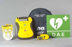 Un defibrillatore Dae