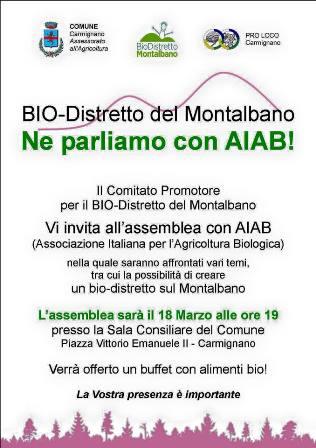 BIODISTRETTO DEL MONTALBANO, INCONTRO CON L'AIAB