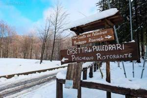 La Casetta sotto la neve
