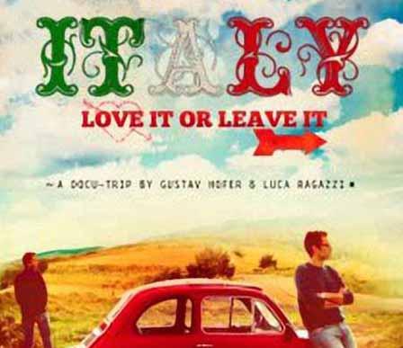ALLA SAN GIORGIO LA PROIEZIONE DEL FILM «ITALY: LOVE IT OR LEAVE IT»