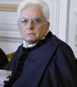 Il Giudice della Corte Costituzionale Sergio Mattarella