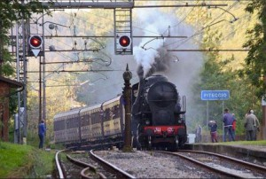 Il treno a Piteccio