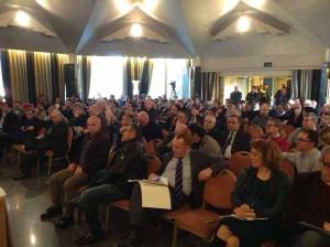Il Sap a Rimini. La sala