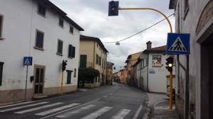 Il nuovo semaforo a Catena