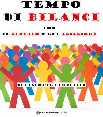 """""""TEMPO DI BILANCI"""", INCONTRI SUL TERRITORIO"""
