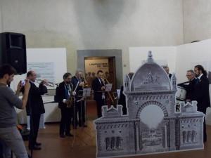 La Borgognoni inaugura la mostra