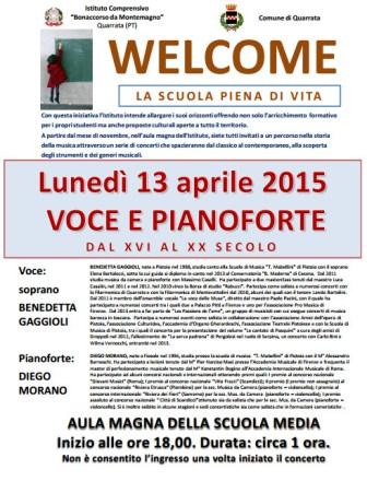 VOCE E PIANOFORTE
