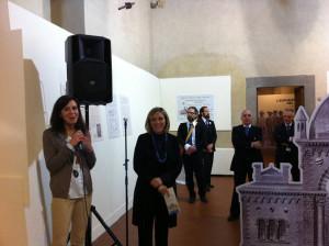Silvia Mauro e l'Assessore Elena Becheri