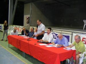 Al tavolo dei relatori, anche l'ex assessore ombra all'ambiente Simone Bartolini
