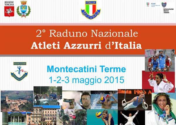 GLI AZZURRI D'ITALIA A MONTECATINI