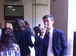 Bernard Dika, del Parlamento degli studenti toscani