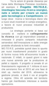 Dalla relazione di fine mandato del Presidente della Provincia di Pistoia Federica Fratoni