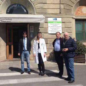 Donzelli all'ospedale Pacini di San Marcello