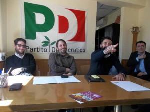 I triumviri della decapitazione democratica (in secondo piano Massimo Baldi)