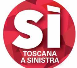 Il logo di Sì Toscana a Sinistra