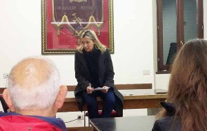 Simona Laing alla Baccarini