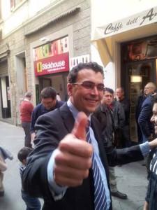 Massimo Baldi ha inaugurato il suo comitato elettorale