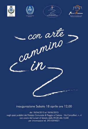 """IN CAMMINO CON ARTE"", OPERE IN MOVIMENTO ALL'INSEGNA DEL DIALOGO"