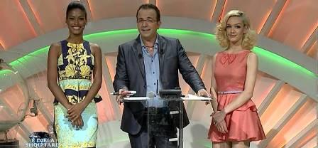 """IL """"PIPPO BAUDO"""" ALBANESE E LA TROUPE DI TV KLAN A AGLIANA"""