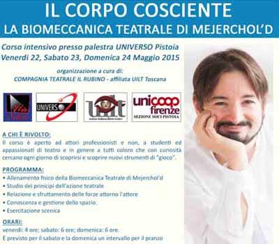 """""""BIOMECCANICA TEATRALE"""", FILOSOFIA DI VITA ARTISTICA"""