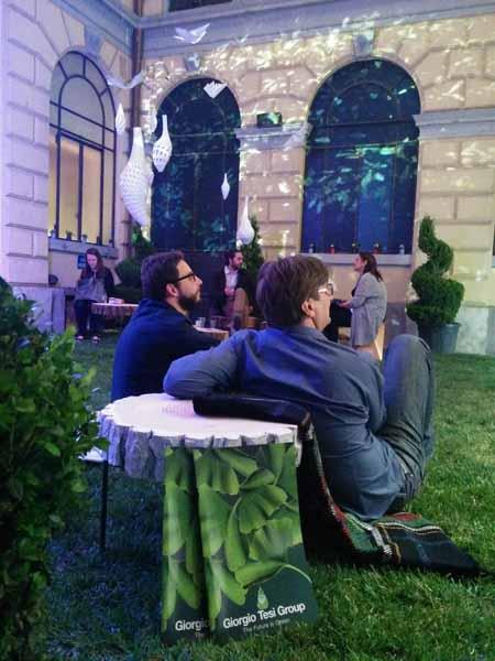 IL GIARDINO 'IMPOSSIBILE' DELLA TESI GROUP AL FUORISALONE DI MILANO
