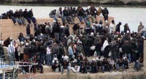 Nuovi arrivi di migranti e rifugiati
