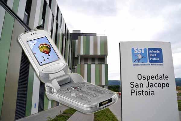 OSPEDALE SAN JACOPO, DISAGI PER LA TELEFONIA MOBILE