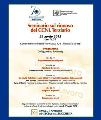 RINNOVO CCNL DEL TERZIARIO