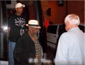 L'ultimo concerto a Pistoia di B.B. King il 14 luglio 2012
