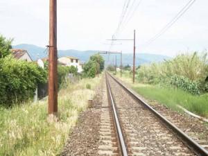 La ferrovia a Spazzavento. 1