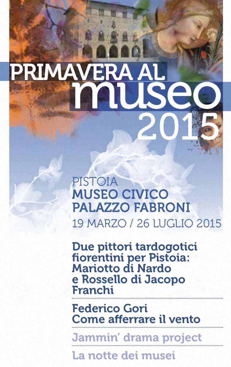 """""""PRIMAVERA AL MUSEO 2015"""", NUOVI APPUNTAMENTI AL CIVICO E AL FABRONI"""