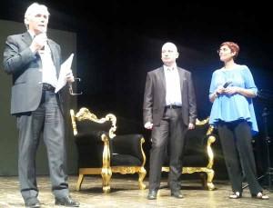 Abati, Nucci e Raffaelli al Teatro Pacini di Pescia