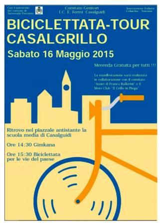 """""""BICICLETTATA-TOUR CASALGRILLO"""""""
