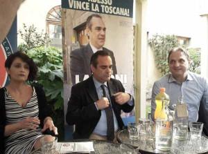 Silvia Corradini, Giovanni Lamioni, Roberto Cenni