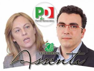 Federica Fratoni e Massimo Baldi