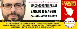 Giacomo Giannarelli a Pistoia