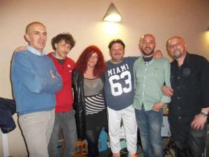 Giovanni Tafuro, Nick Becattini, Donatella Pellegrini, Daniele Nesi, Enrico Cecconi, Maurizio Spampani